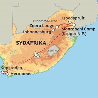 Sydafrika forstarker i lesotho