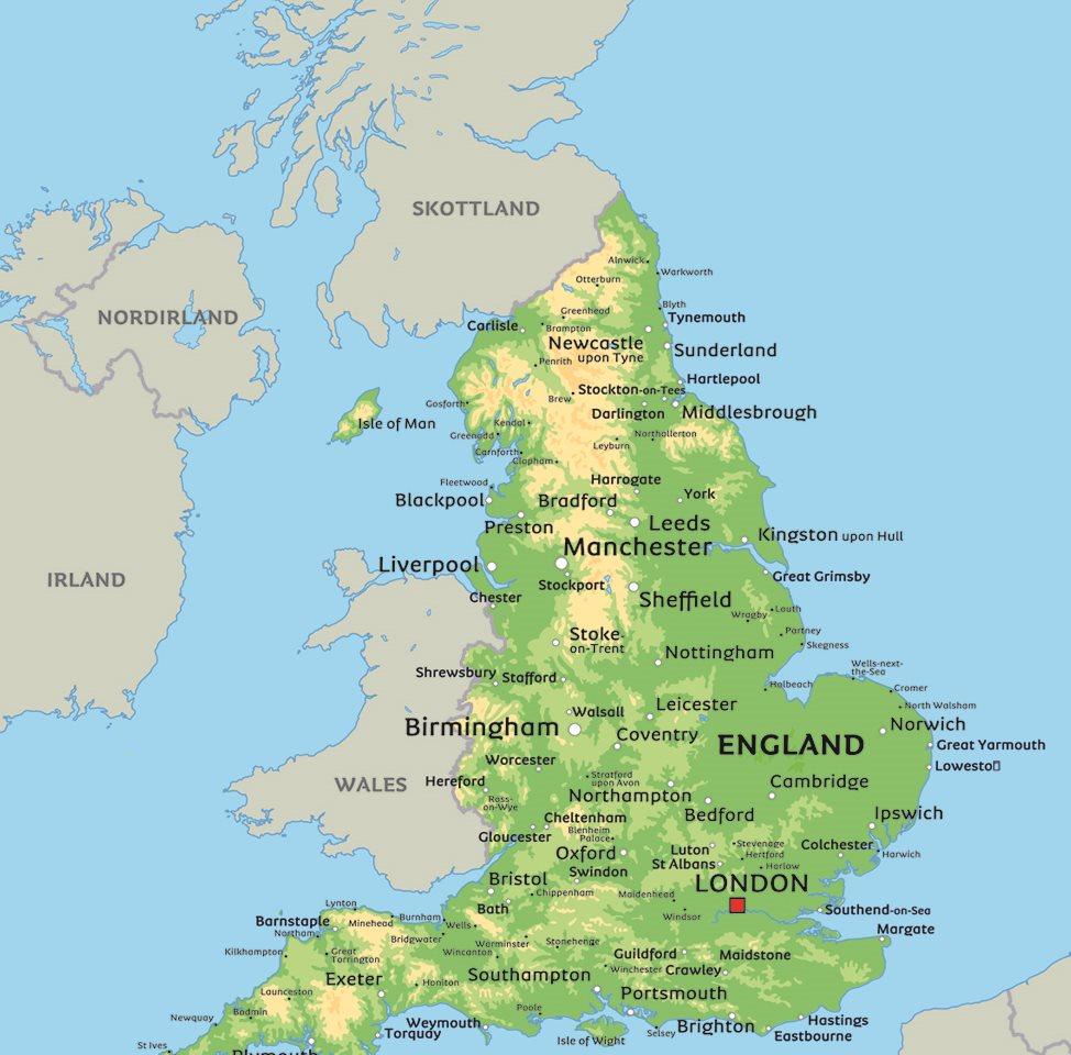 karta över england och skottland Karta England: Se till exempel huvudstaden London karta över england och skottland