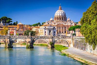 krok i Rom Italien