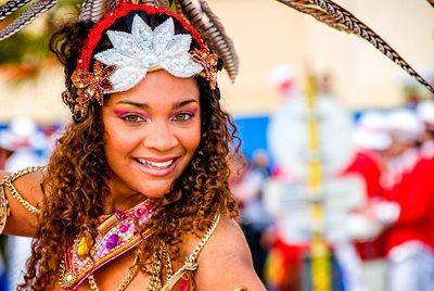 krok på karnevalskryssning