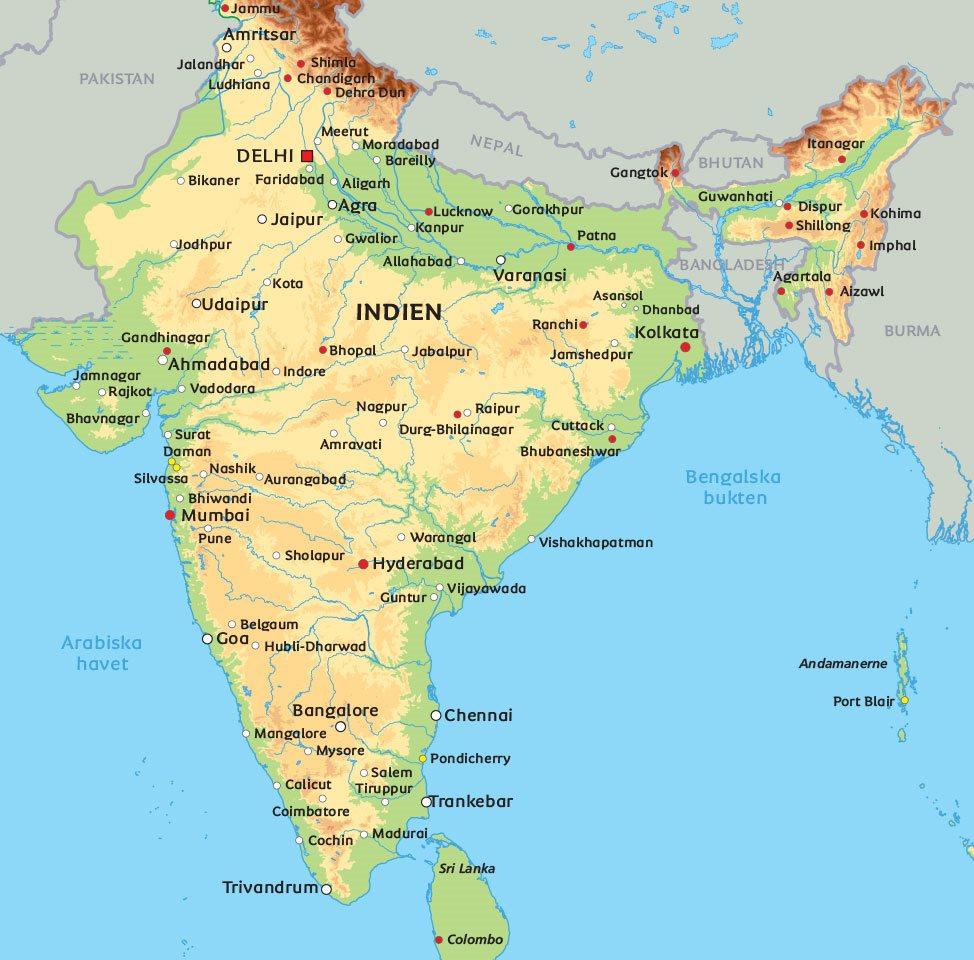 Stad I Indien Webbkryss