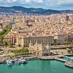 Karta Over Spaniens Vastkust.Spanien Karta Se De Storsta Staderna I Spanien Bland Annat Madrid