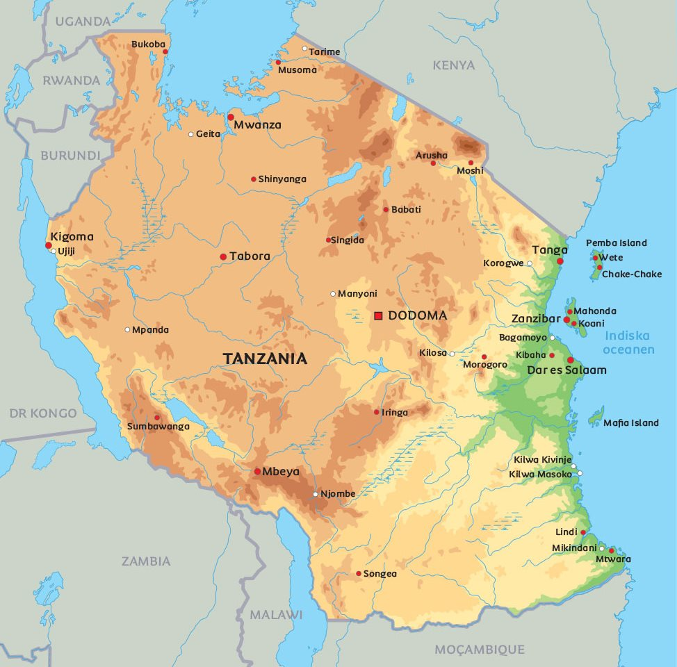 stad i tanzania