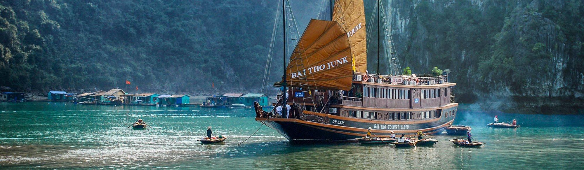 Vietnam har vind i seglen